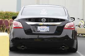 nissan altima coupe rear spoiler slammed vip 2013 altima nissan forums nissan forum