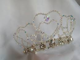 handmade tiaras 51 best handmade wedding tiaras images on wedding