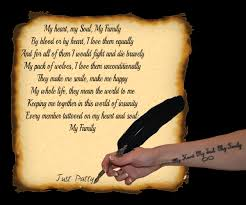 I Love My Family Quote by Monorhyme My Heart My Soul My Family Petitemagique