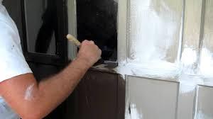 brushing benjamin moore u0027s aura exterior paint youtube