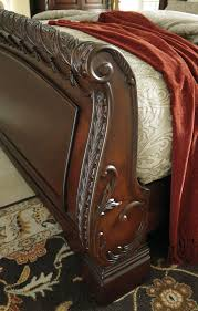 North Shore Bedroom Furniture By Ashley North Shore Queen Sleigh Bed From Ashley B553 77 74 75 Coleman