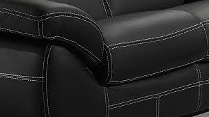canape cuir fabrication salon cuir 5 places noir pas cher canapé 3 2