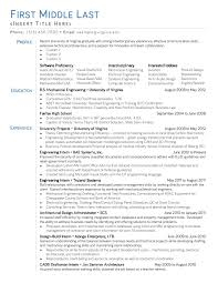 Sample Resume Format With Achievements by Resume Title For Entry Level Examples