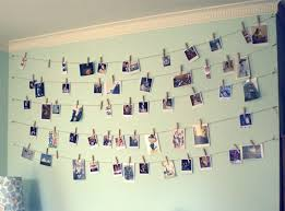 twine clothespin wall art in bedroom wall for diy bedroom decor