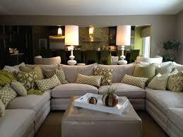 U Shaped Sectional Sofa Living Room U Shaped Sectional Sofa Living Room Ideas With
