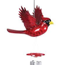 cardinal bird home decor cardinal wind chime walmart com