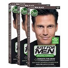 real hair just for men original formula men s hair color real