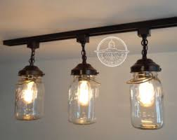 Canning Jar Lights Chandelier Mason Jar Lighting Etsy