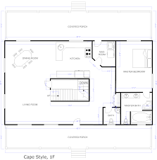 Cape Floor Plans by Floor Plan Hdviet