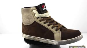 brown motorcycle boots sidi insider motorcycle boots brown thevisorshop com youtube