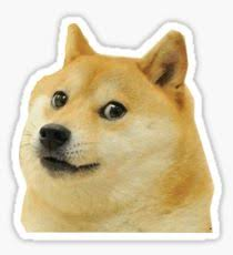 Stickers Meme - doge meme stickers redbubble