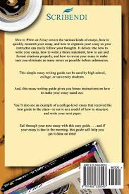 how to write a paper pdf college level essay how to write an essay in five easy steps how to write an essay in five easy steps scribendi how to write an essay in