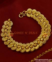online bracelet images Brac007 women bridal heartin design imitation bracelet gold jpg