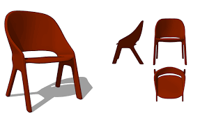 how to model kid u0027s chair in sketchup sketchucation