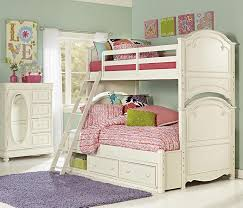 Twin Over Full Bunk Beds Stairs Convertible Twin Over Full Bunk - White bunk beds twin over full with stairs