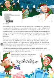 santa letter direct personalised letters from santa claus