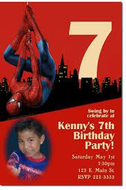spiderman birthday invitations super hero birthday invitations