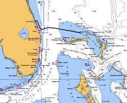 Map Of Fort Pierce Florida by Melbourne To The Abacos