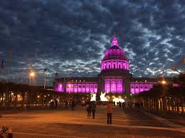 sf city hall lights remembering prince sf city hall lights up in purple to honor the