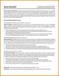 Finance Manager Sample Resume by 10 Finance Resume Examples Financial Statement Form