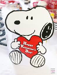 modern and cute peanuts valentine u0027s day party soiree event design