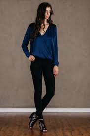 women u0027s blue blouses lace tops guess tops long sleeve u2013 for elyse