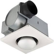 bathroom exhaust fan heater ebay