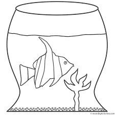 76 coloring page angelfish free printable goldfish coloring