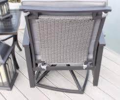 Wicker Patio Dining Chairs by 9pc Palmetto Deep Seating