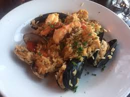 seafood risotto the barn door ridgefield ct picture of barn