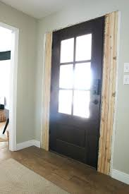 Exterior Door Casing Replacement Front Doors Door Inspirations Front Door Glass Frame Replacement