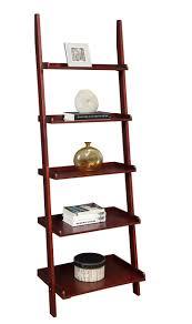 furniture leaning wall bookshelf tall narrow white bookshelf