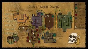 the burrow floor plan a hobbit u0027s haunted survival map