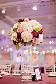 roses centerpieces hydrangea and reception centerpiece hydrangea
