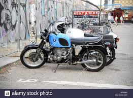 bmw motorcycle vintage old bmw bike motorbike vintage rent a bike stock photo royalty