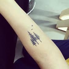 21 awesome photos of mystical pine tree tattoos ideas wall4k com