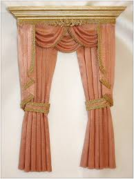 Window Swags And Valances Patterns Long Swag Curtains Swag Valance Pattern Drapery Ideas For Living