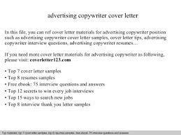 Advertising Resume Beautiful Advertising Copywriter Cover Letter Pictures Podhelp