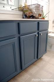 Painting Bathroom Cabinets Ideas Lovely Beautiful Blue Bathroom Vanity Cabinet Top 25 Best Painted
