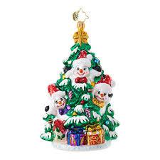 christopher radko ornaments radko snowmen frosty filled fir 1018806