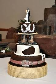 cowboy cake toppers albuquerque wedding cakes cowboy boots horseshoe western wedding