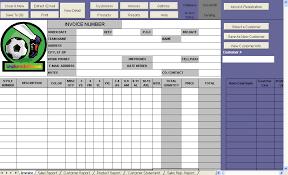 soccer shop invoice template uniform invoice software
