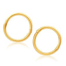 sleepers earrings baby sleepers earrings 9ct yellow gold 8mm g10159699 grahams