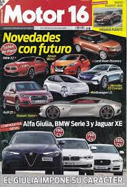 revista motor 2016 revista motor 16 nº 1685 año 2016 comp alfa comprar revistas
