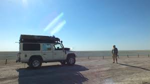 land rover overland wildlife encounters in etosha national park camping africa blog