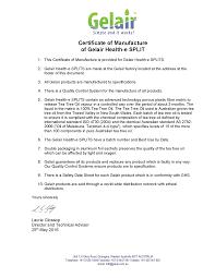 House Specification Sheet Gelair Health E Split Kill Molds Bacteria Viruses In Your