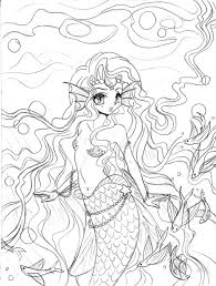 mermaid princess concept sketch by yampuff on deviantart