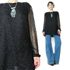 new year s tops best evening beaded tops products on wanelo