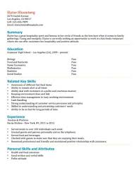 Currently Working Resume Sample by Teenage Resume Template