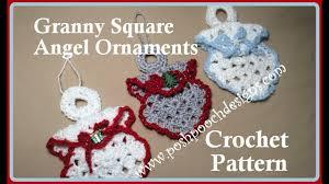 square ornament crochet pattern